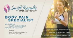 Swift Results Massage Therapy banner
